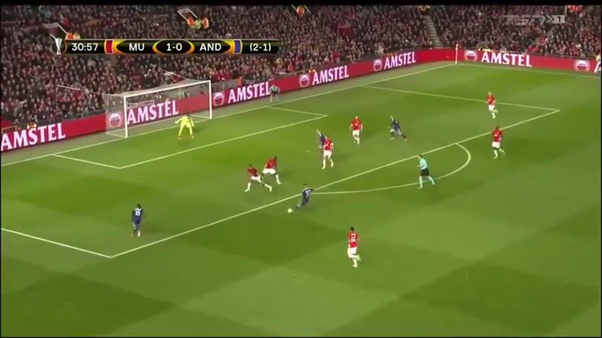 Manchester United avanzó a semifinales con un gol en tiempo extra.