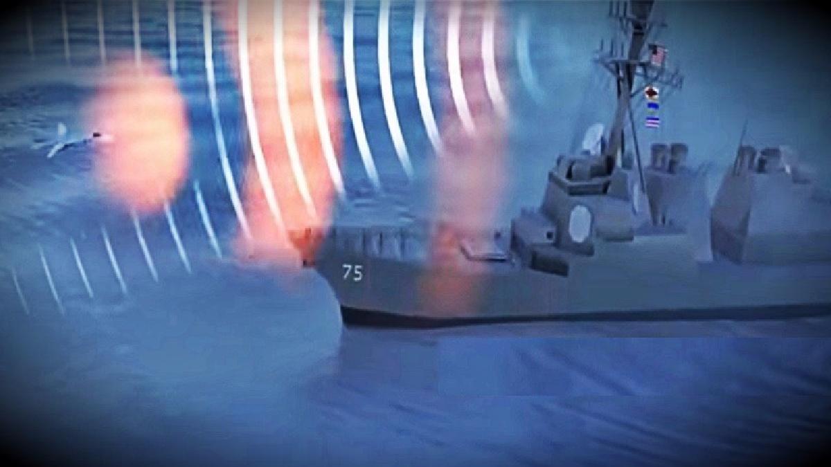 La transmisión rusa afirmó que en 2014 un jet de su país fue capaz de desactivar los sistemas de defensa del destructor estadounidense USS Donald COok.