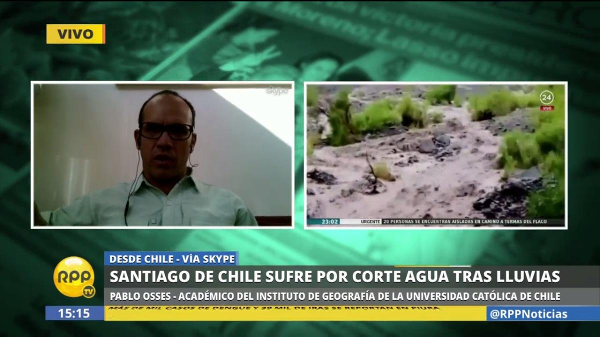 El académico chileno, Pablo Osses, explicó que el Estado no ha invertido lo suficiente en planes de prevención y contingencia frente a este tipo de fenómenos.