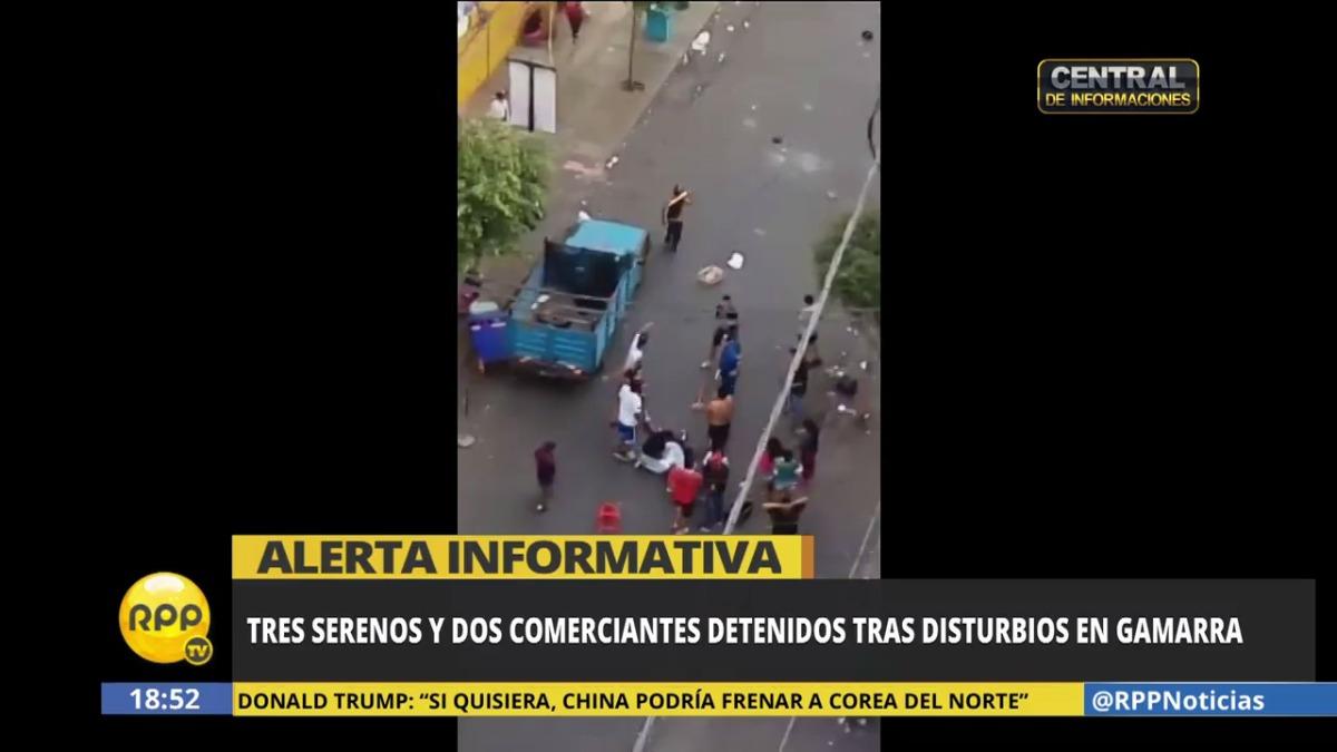 El general Gastón Rodríguez, jefe de la Región Policial Lima, se comunicó con RPP Noticias y comentó detalles de lo ocurrido.