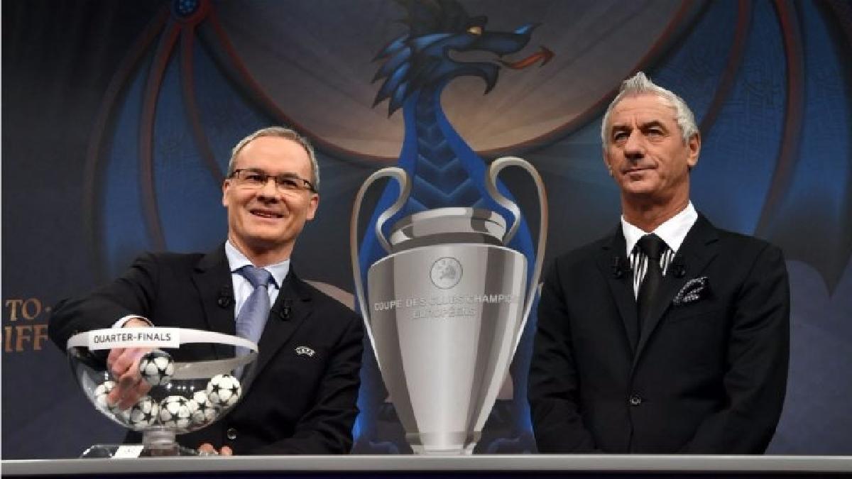 Así se realizó el polémico sorteo del partido entre Real Madrid y el Atlético.