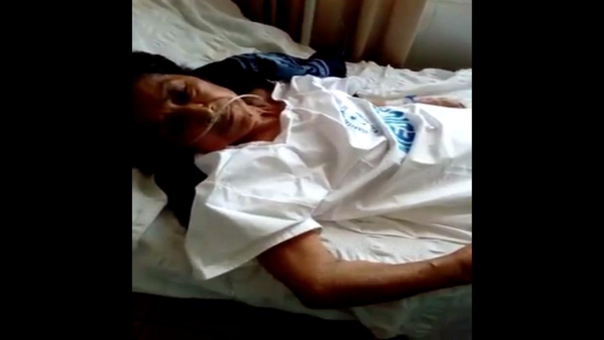 Abuelita de 82 años confirma que la ataron en hospital.