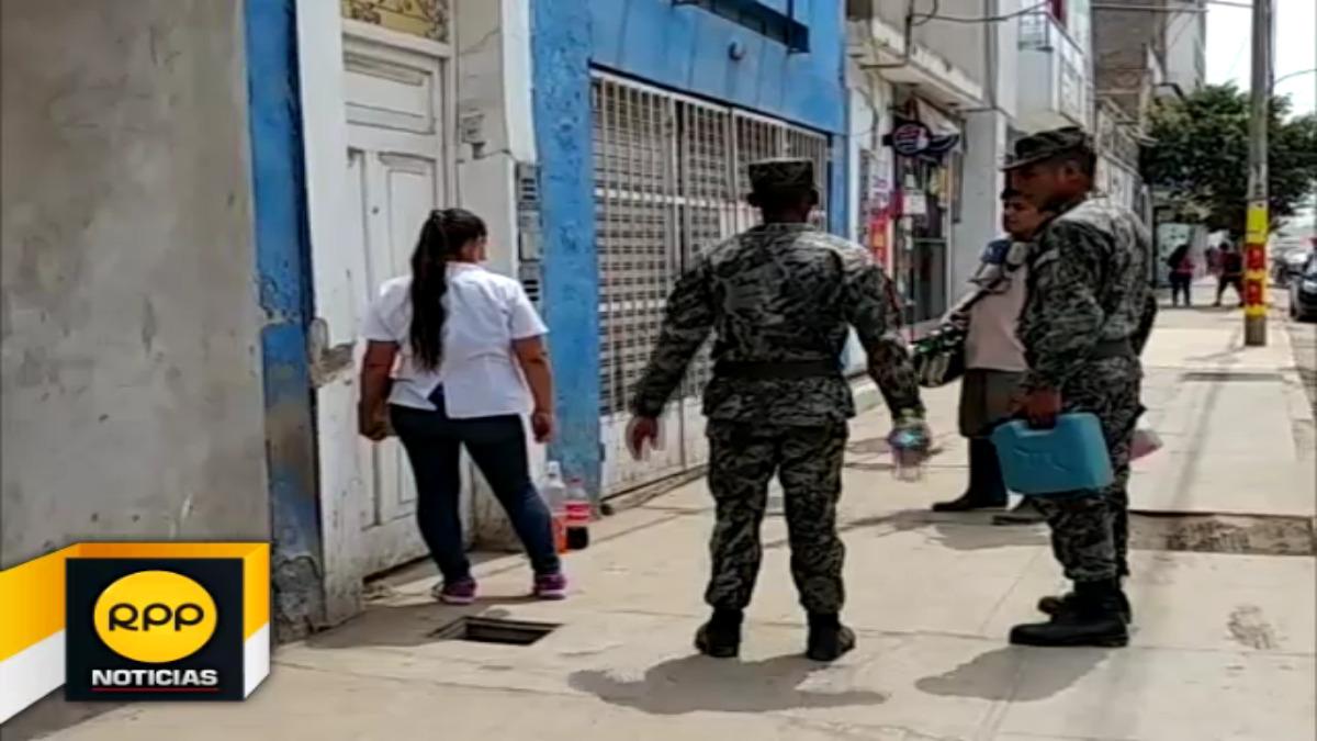 Jornada en el centro de Chiclayo