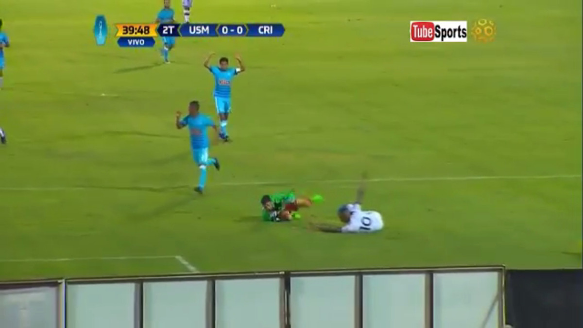 El partido se resolvió con un penal de Ramiro Cáseres a los 86 minutos.