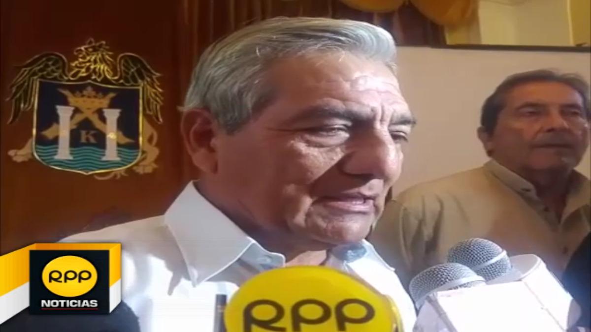 El alcalde Elidio Espinoza señaló que urge obra de saneamiento, construcción de nuevo asfaltado y  canaletas luego de lluvias y huaicos.