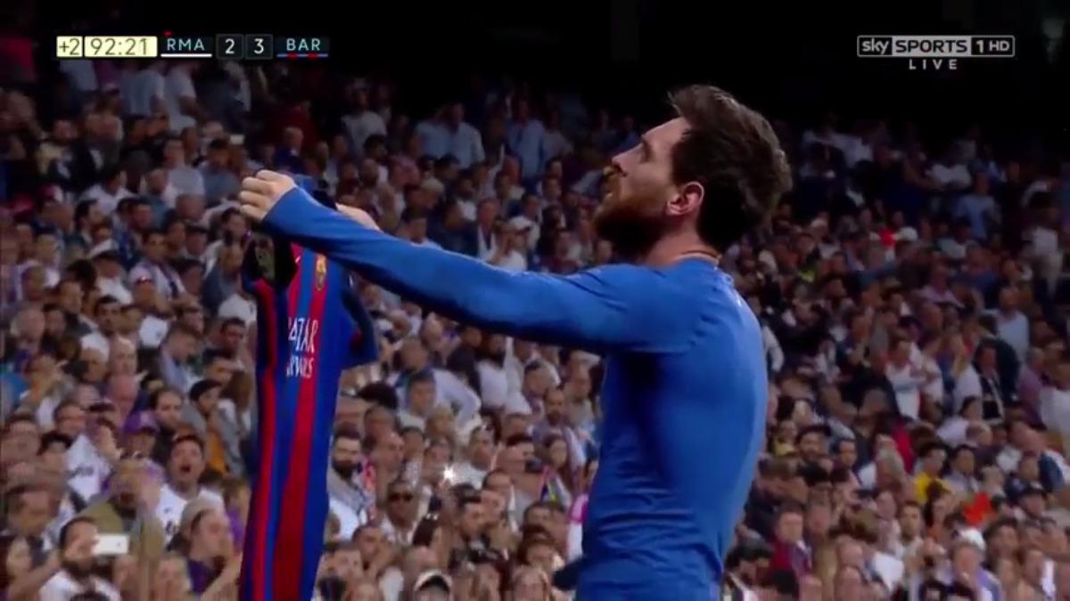 Barcelona llegaba a este partido tras quedar fuera de la Champions League y con un 'doblete', Lionel Messi alcanzó los 500 goles.