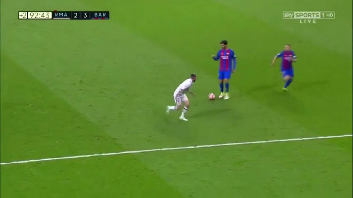 El resumen del partido entre Real Madrid y Barcelona.