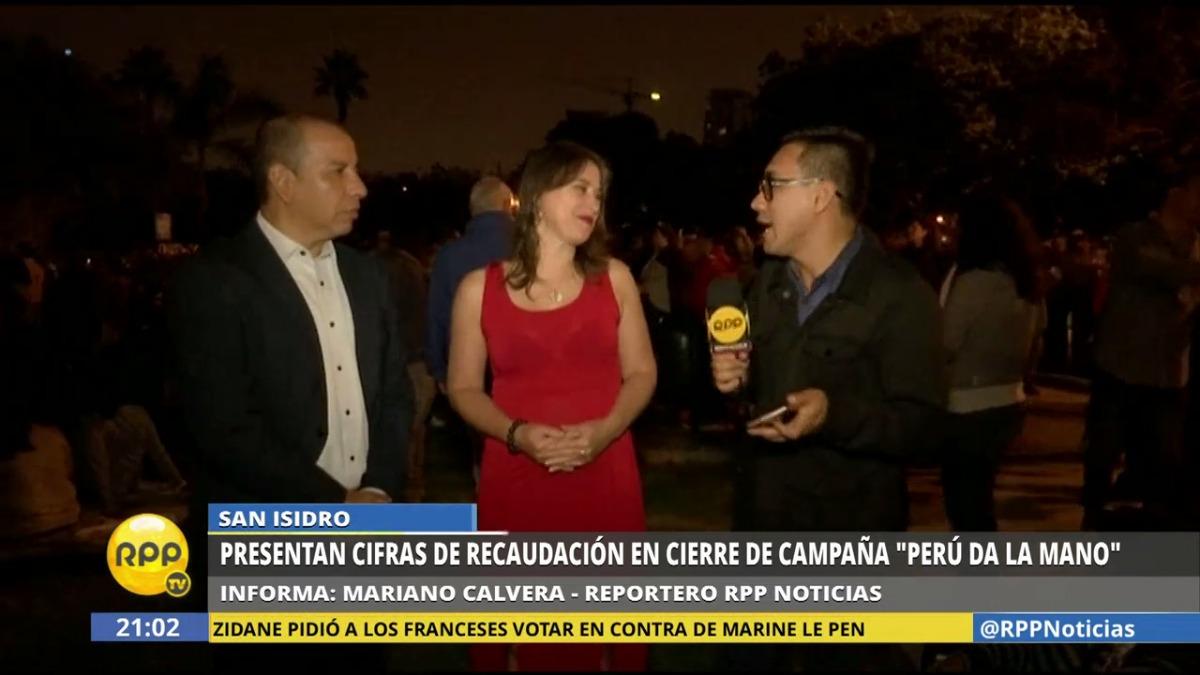 Perú da la mano fue la campaña hecha por el Grupo RPP, Caritas y la Municipalidad de San Isidro.