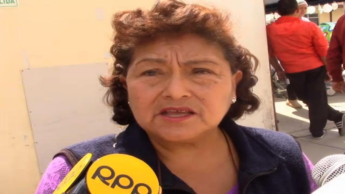 Presidenta de la Asociación de Ténicos en Enfermería, Martha Galarza.