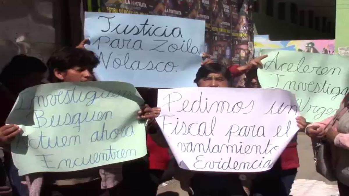 Los familiares exigen que se investigue el paradero de los desaparecidos.