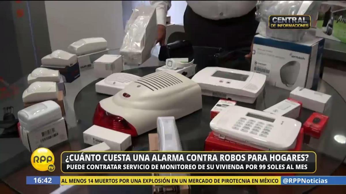 ¿Cuanto cuesta una alarma contra robos? Especialistas comentan cómo mejorar la seguridad en el hogar.
