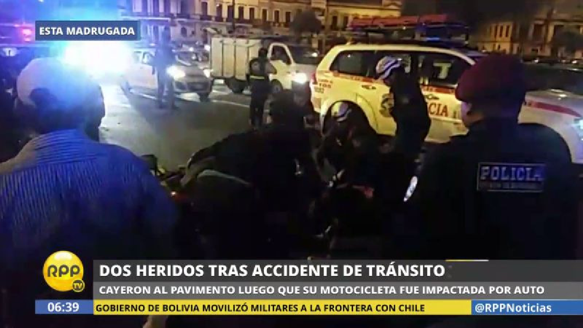 El chofer que causó este accidente se dio a la fuga.