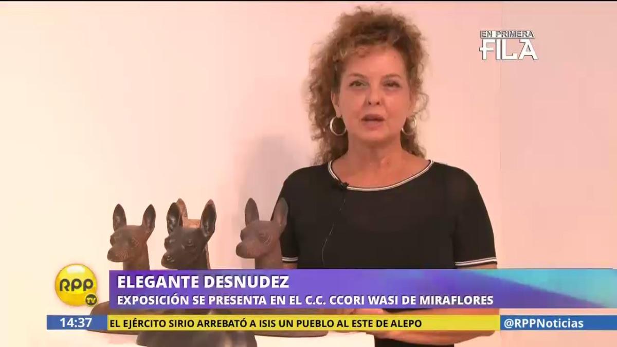Elegante Desnudez | Exposición de escultura que tiene como protagonista al perro peruano sin pelo.