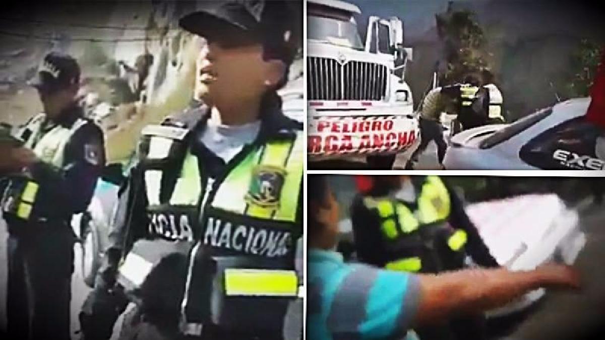 La Suboficial agredió al conductor de la unidad que intervino  y a sus acompañantes.