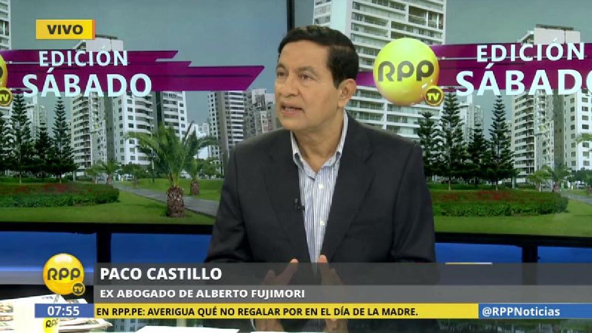 """Paco Castillo dijo que Galarreta fue su alumno en la universidad, """"y no fue muy bueno""""."""