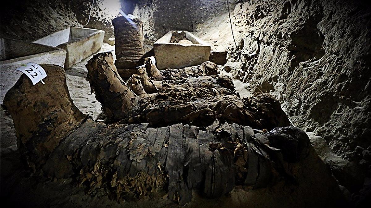 Las momias fueron descubiertas al centro de Egipto cerca de un valle del río Nilo.