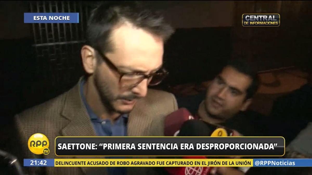 Eduardo Saettone se retiró de Panamericana Televisión sin dar más respuestas.