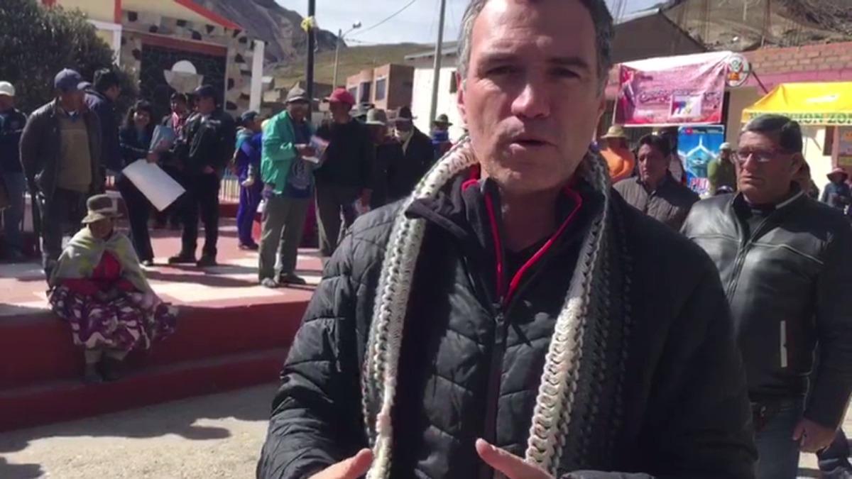 Se aplica el plan Antes Perú para atender a los afectados por el friaje.