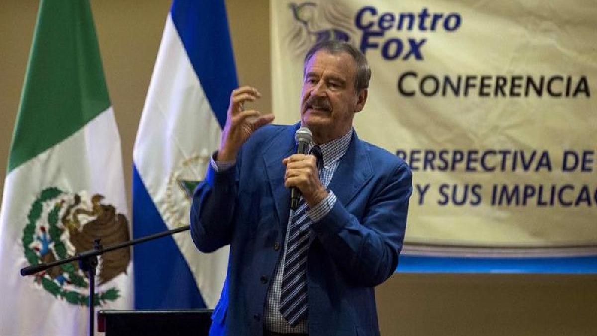 Vicente Fox pidió a todos trabajar por Venezuela, que se encuentra sumida en una profunda crisis.