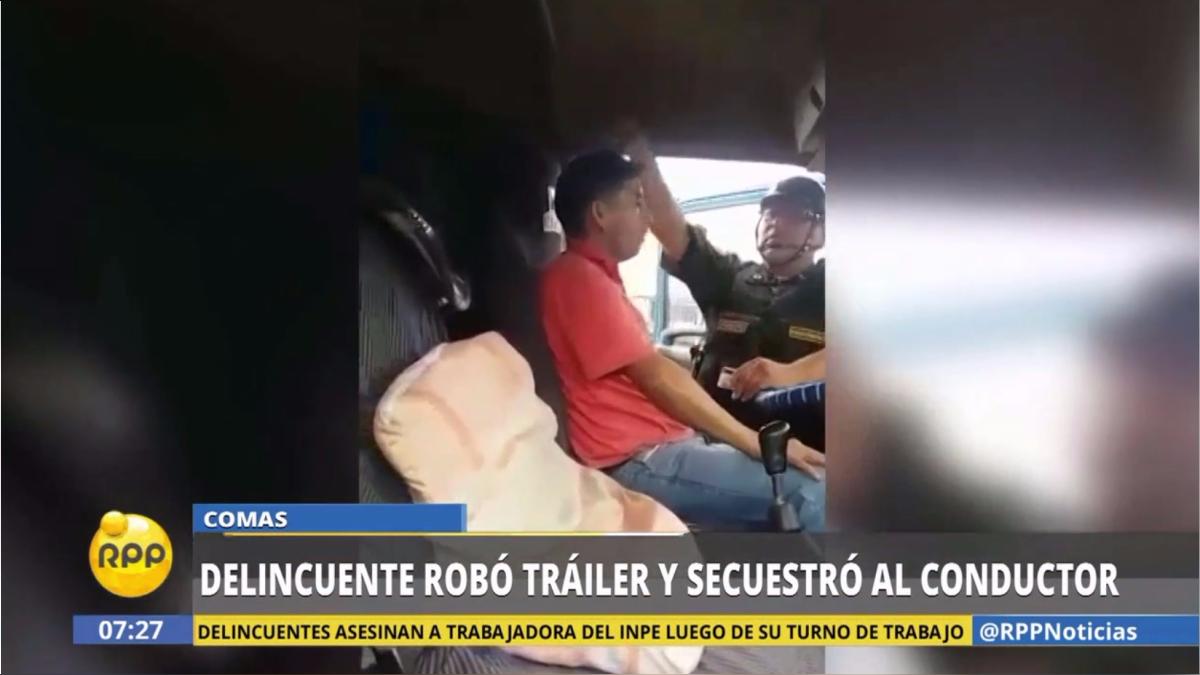 La Policía intervino a Abel Gavino Escalante.