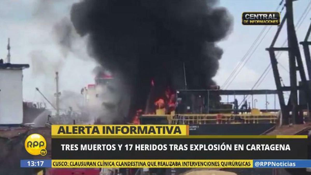 Otras 17 personas resultaron heridas en la explosión.
