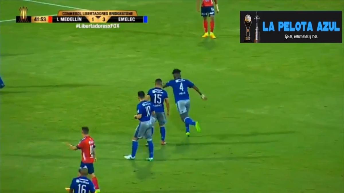 El gol de Fernando Pinillo fue muy parecido al que anotó Nacho en el Real Madrid durante la semana.