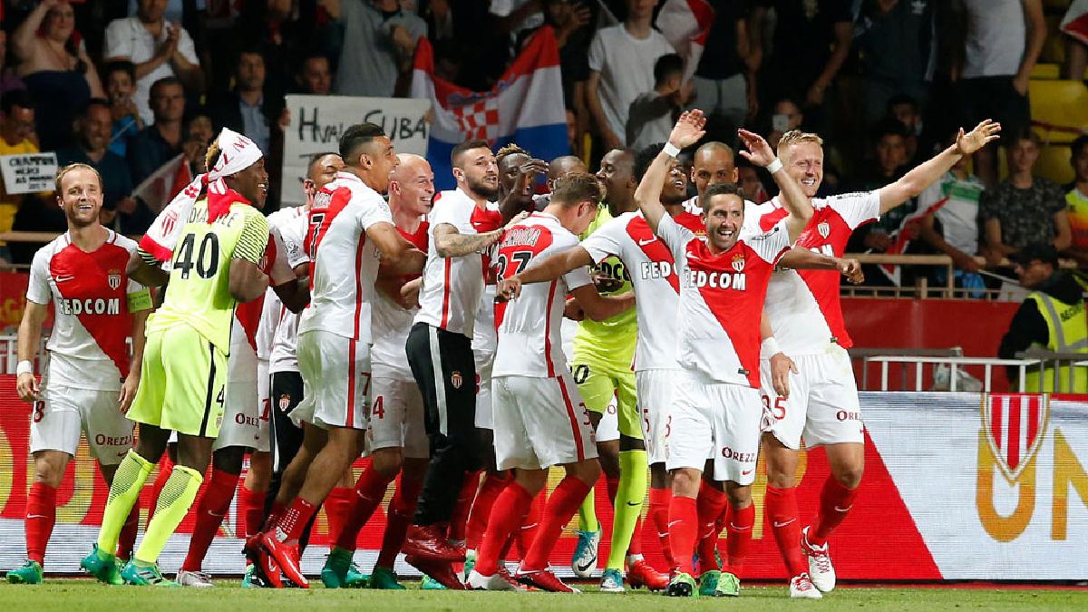 Mónaco se coronó campeón de la liga francesa.