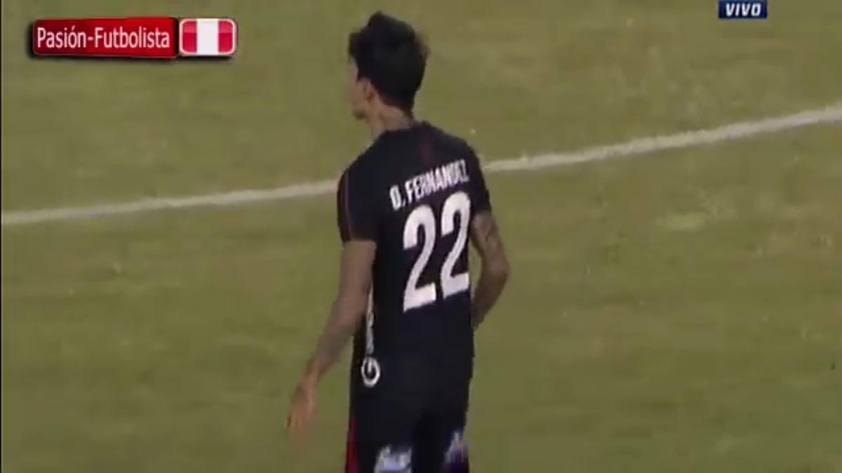 Omar Fernández marcó su primer gol en la Copa Libertadores 2017.
