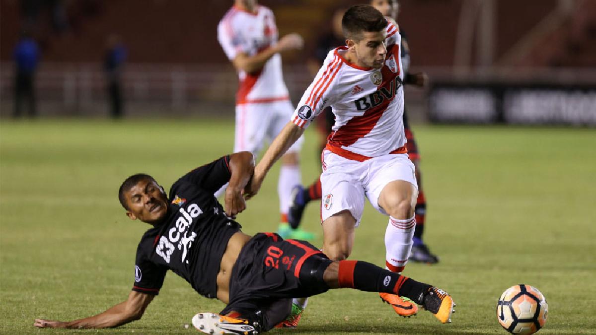 Melgar quedó fuera de la Copa Libertadores tras caer 3-2 ante River Plate