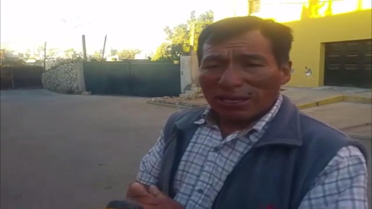 Eloy Cacya, guía subirá al Misti en búsqueda de John Barrientos (31)