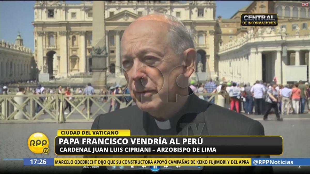 Juan Luis Cirpriani dijo que el Papa quiere que