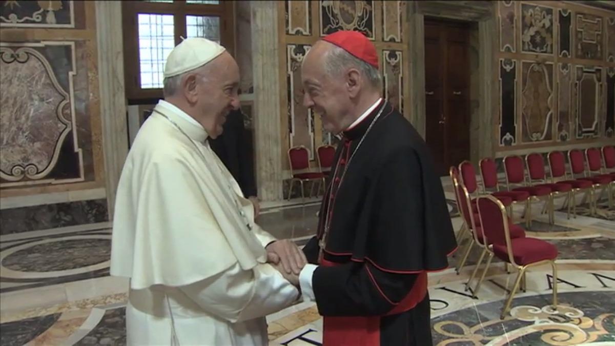 El Papa Francisco se reunió el lunes y miércoles de esta semana con la delegación de obispos peruanos.