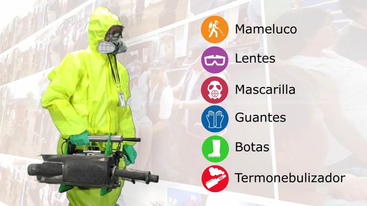 ¿Cómo reconocer a un fumigador del Minsa? El personal capacitado debe estar debidamente acreditado y portar implementos de seguridad.