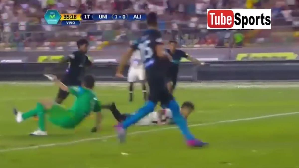 La explosión de Alexi Gómez inició con el 3-0 de Universitario de Deportes en el Clásico.