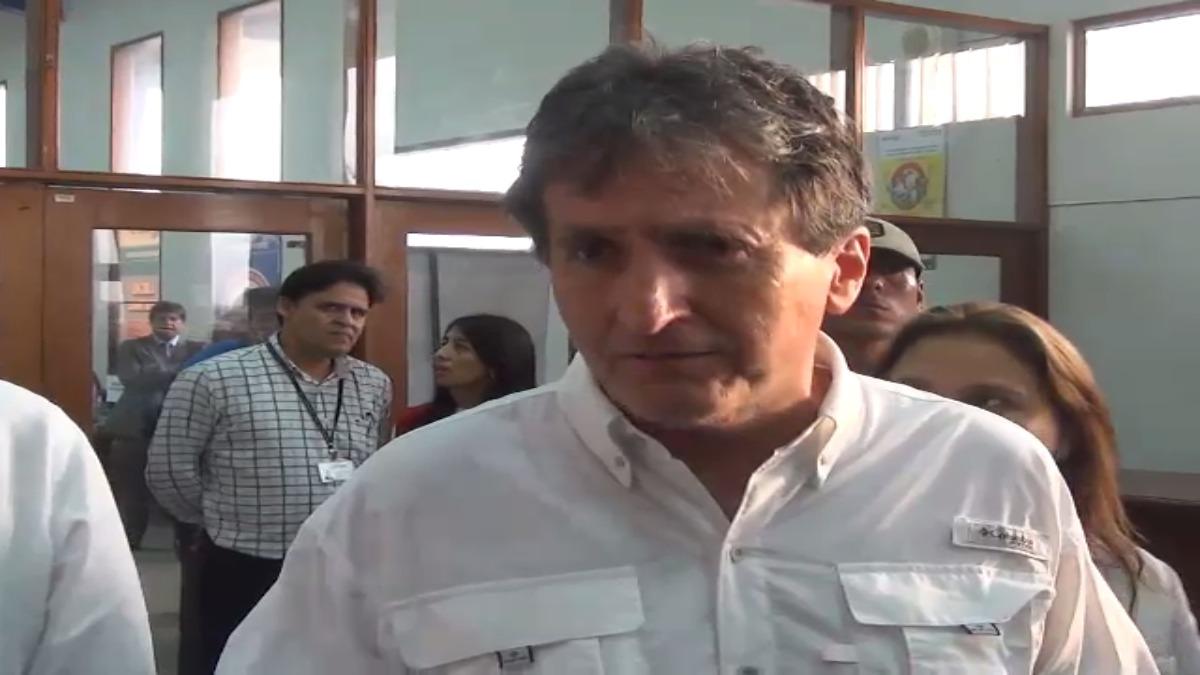 Pablo de La Flor, director ejecutivo de la Autoridad para la Reconstrucción con Cambios (RCC).