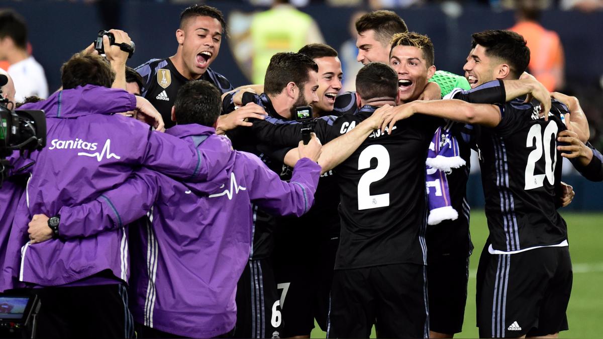 Revive los goles que le dieron la victoria y el título al Real Madrid ante Málaga.