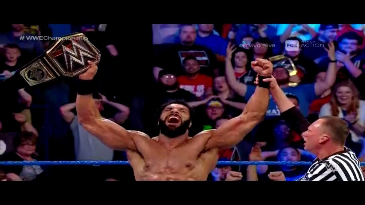 Es la primera vez que el hindú gana un campeona WWE.