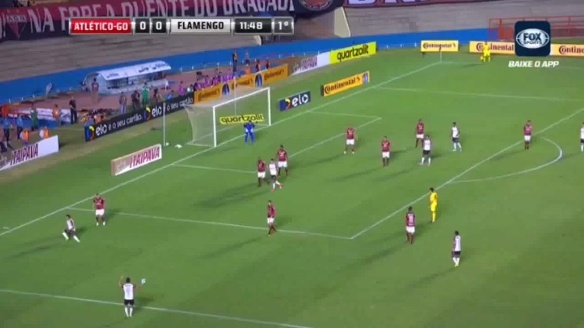 El resumen del partido entre Flamengo y Atlético Goianiense.