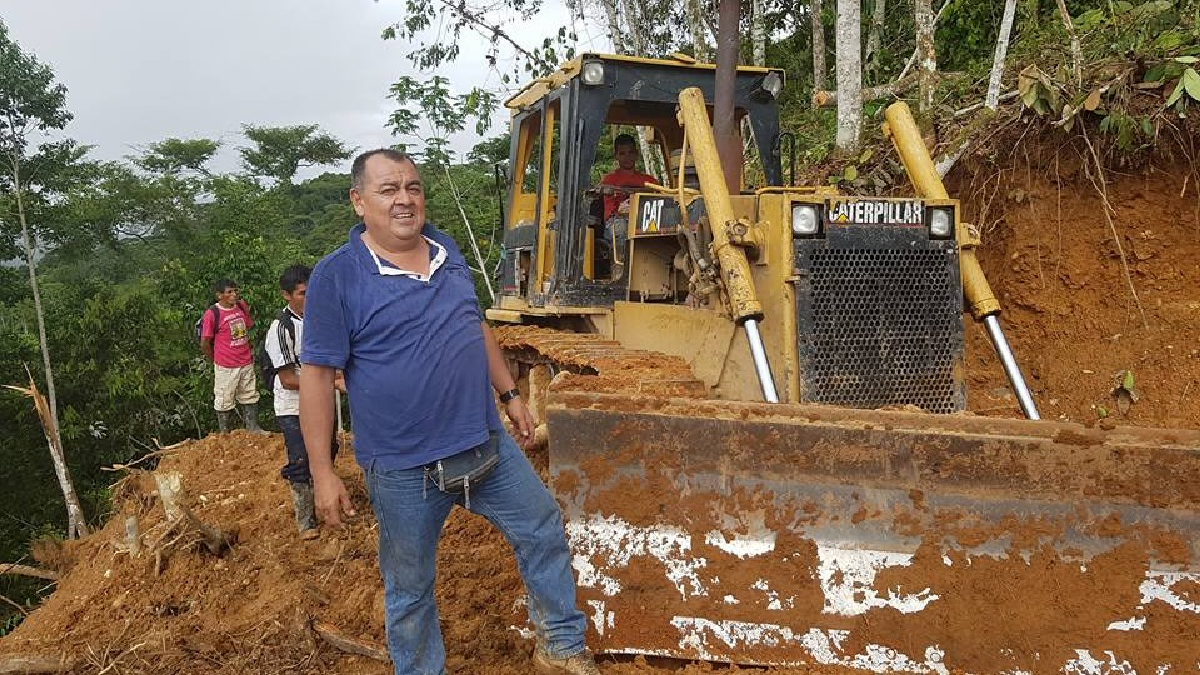 Empresario dedicado al rubro de construcción, Enrique Espinoza Zevallos.