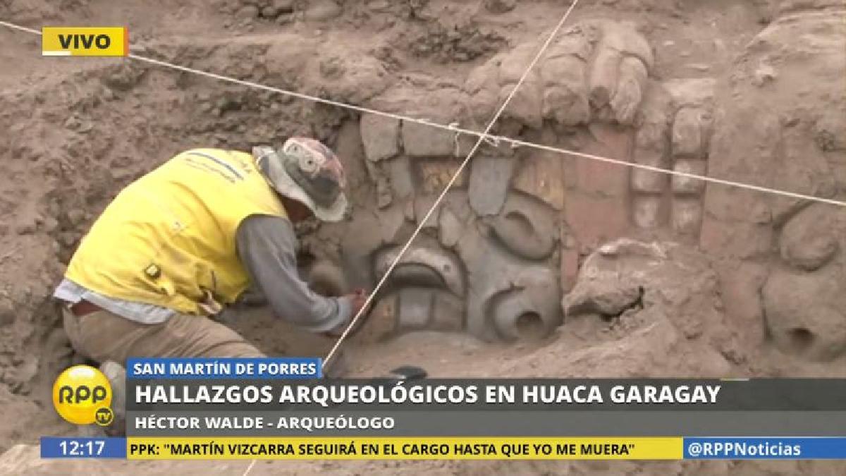 Los frisos descubiertos se parecen mucho a los hallados en Chavín de Huántar, en Áncash.