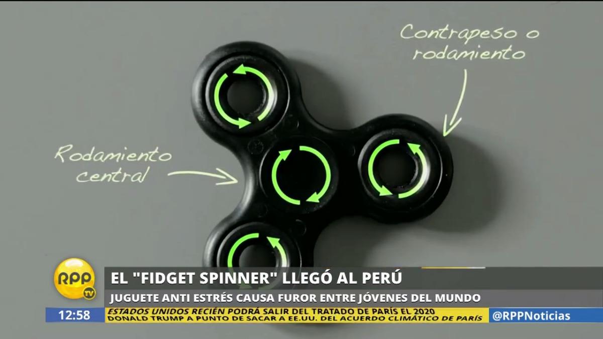 El fidget spinner es el nuevo juguete de moda entre niños y jóvenes.