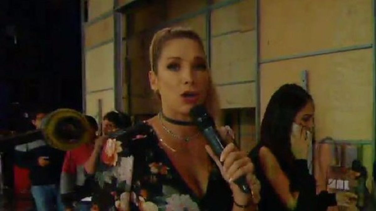 La presentadora  de televisión creyó que el DJ utilizó el sonido de un elefante porque se hablaba sobre Michelle Soifer.