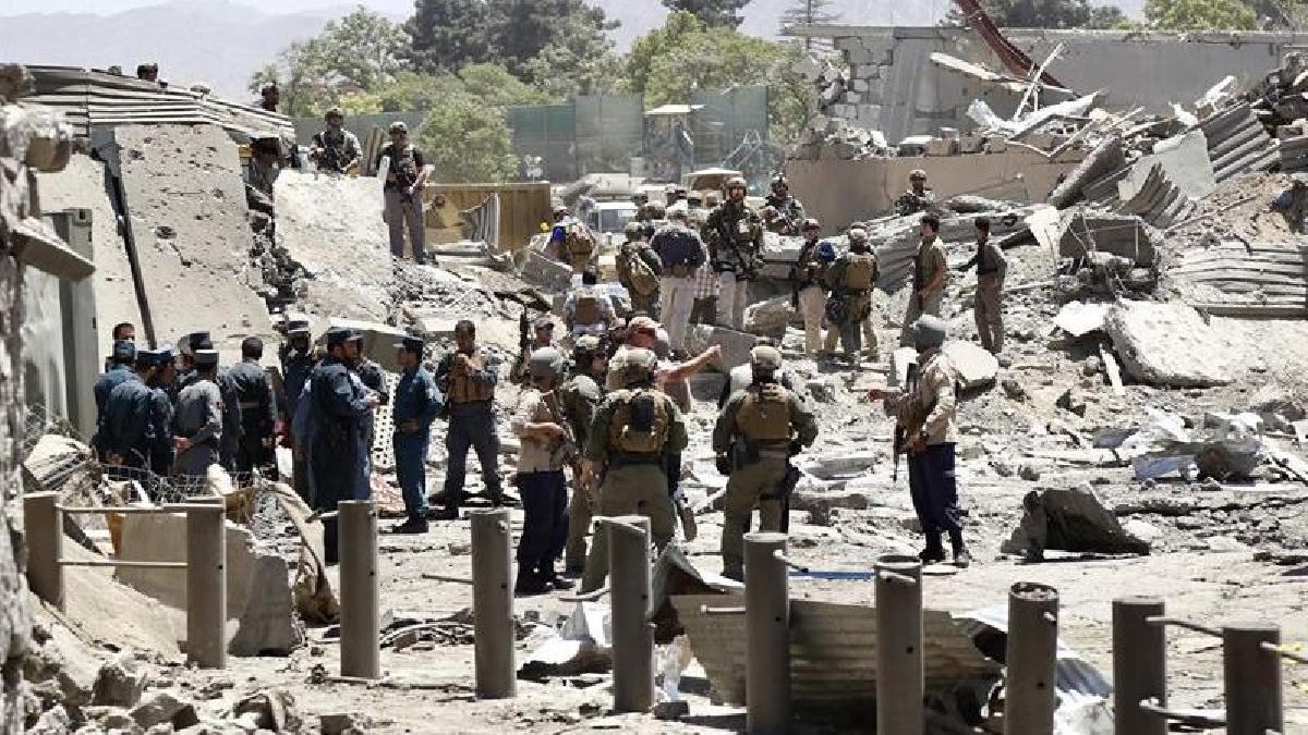 La explosión se produjo en el Distrito Policial 10, una zona cercana a las embajadas de Alemania, Turquía y Japón.