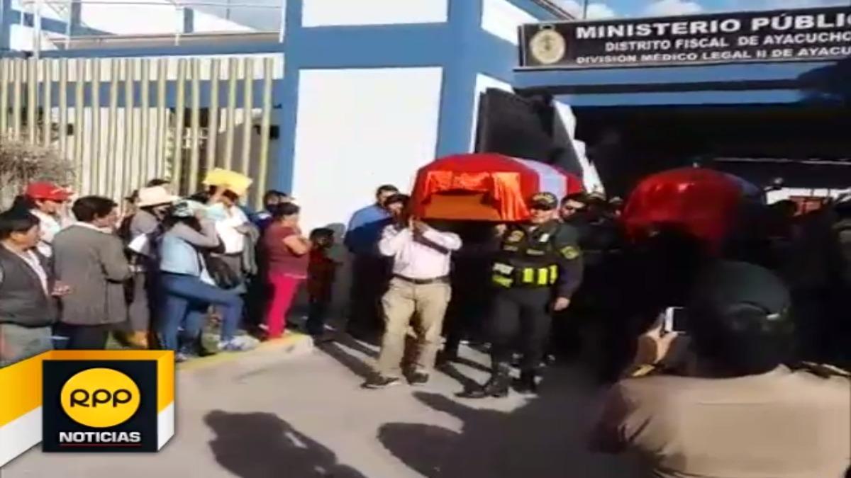 Homenaje en el Ministerio Público de Ayacucho.
