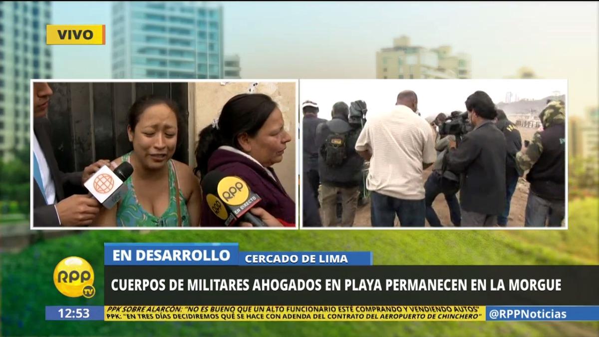 La hermana del soldado Huangal Alvarado contó que las golpizas son muy comunes en la institución.