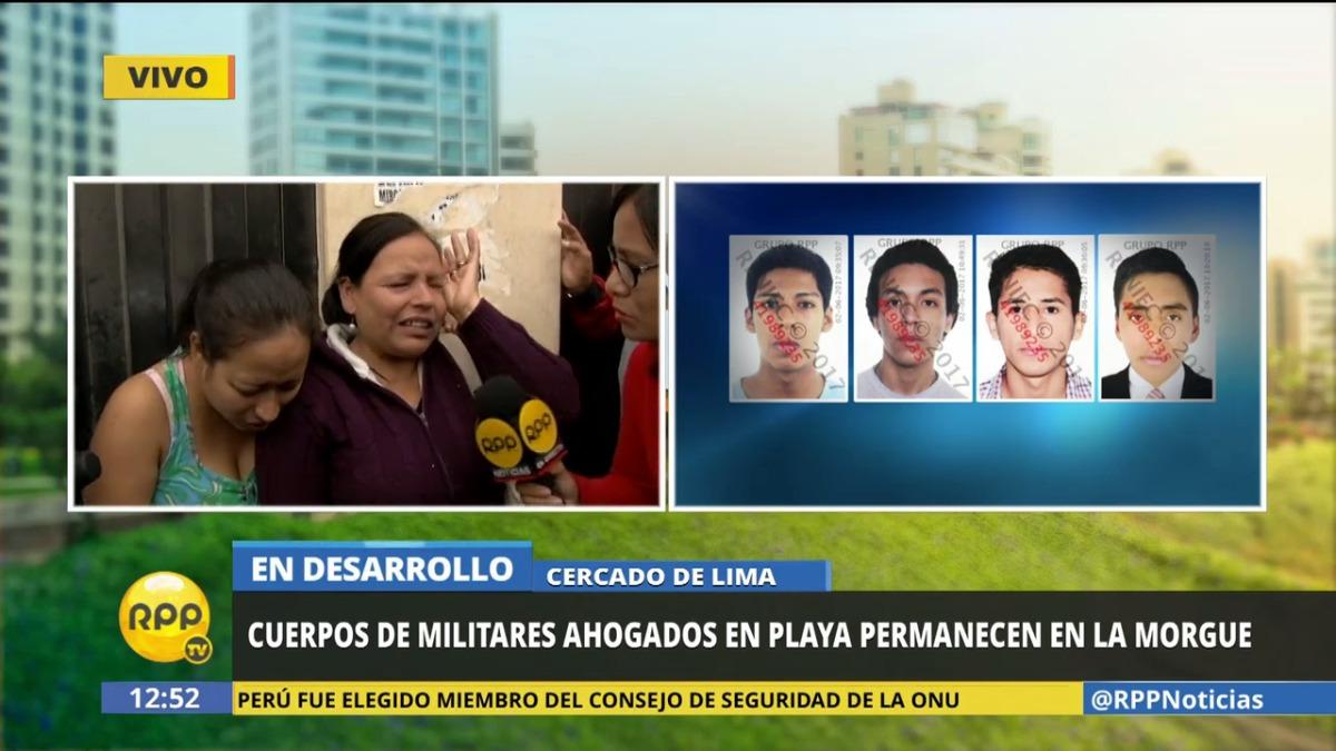 La madre del soldado Edinson Huangal Alvarado explicó que su hijo había ingresado al Ejército en busca de mejores oportunidades.