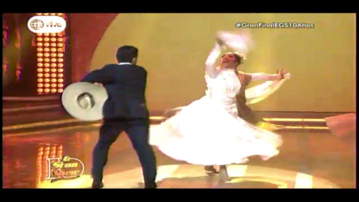 Christian Domínguez e Isabel Acevedo ocuparon el segundo lugar.