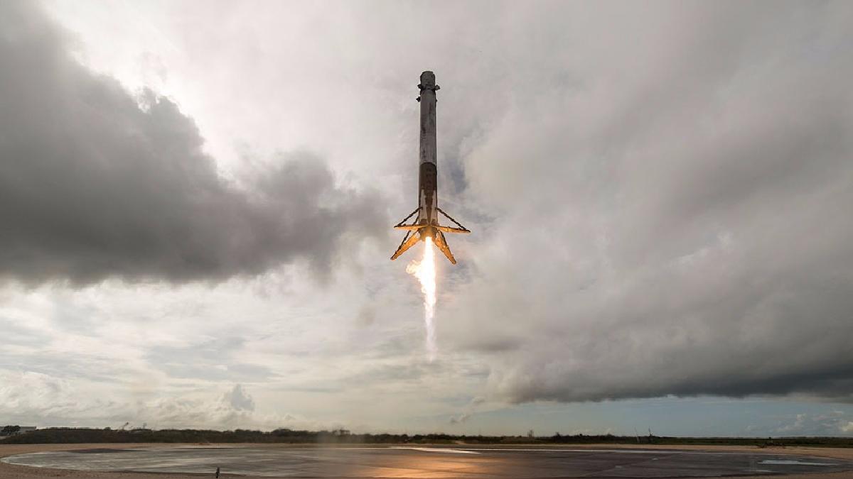 Así fue el lanzamiento de la nave de SpaceX.