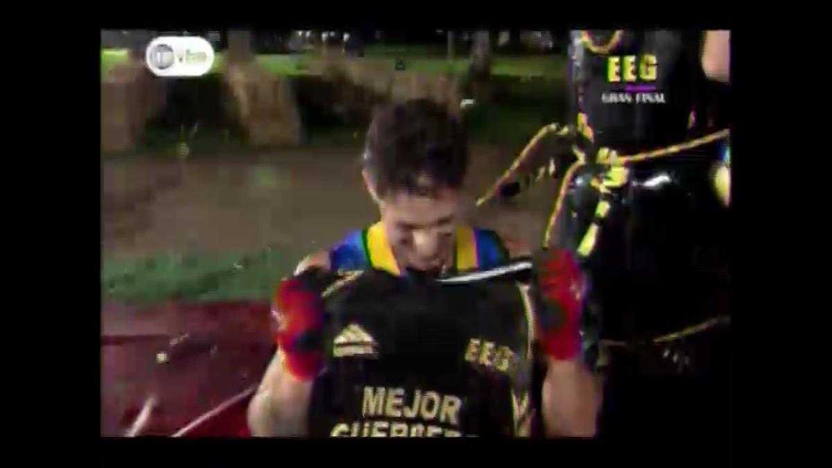 Hugo García logró un tiempo de cinco minutos con 24 segundos.