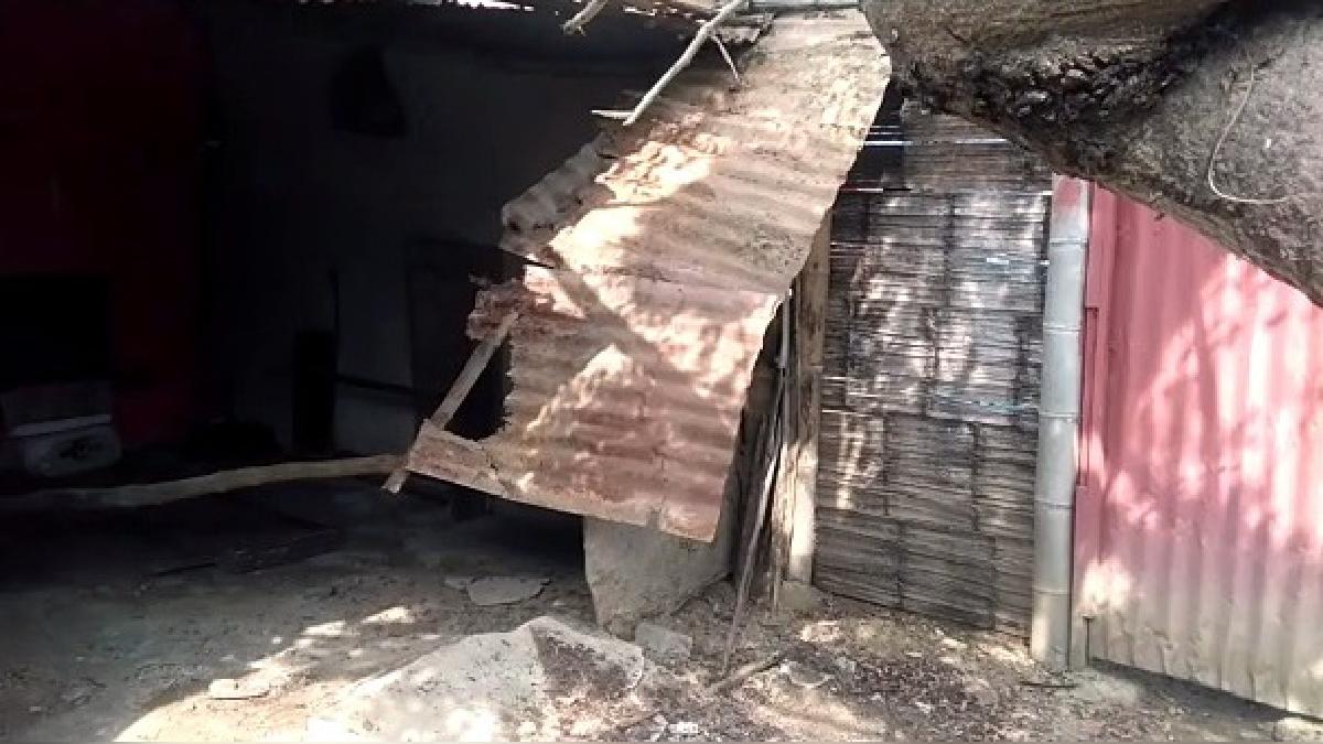 Daños materiales dejó sismo en Tumbes.